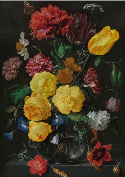 Schilderij Dibond - Bloemen