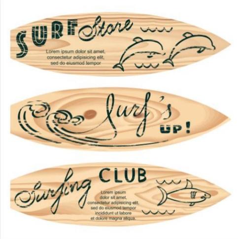 60 x 60 cm - Plexiglas schilderij - Surfplank - fotokunst afbeelding op acryl