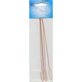 DH380007- 5 x reserve naalden voor kralenmolen