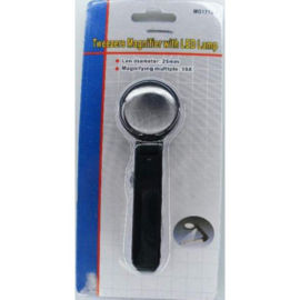 DH101000/001- pincet met vergrootglas en LED