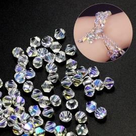C119- 118 stuks AA-kwaliteit imitatie Swarovski crystal kralen 4mm crystal AB