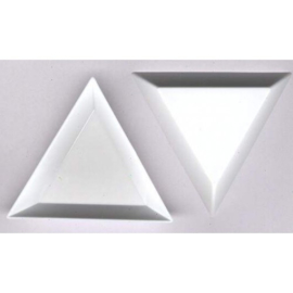 3 stuks knutselbakjes driehoek 7.3x5x1.1cm