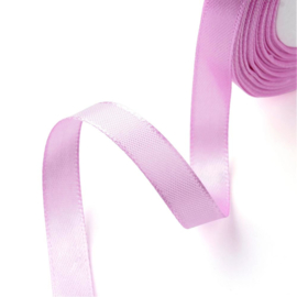 rol met 22.86 meter satijnlint van 6mm breed roze/paas - super aanbieding!