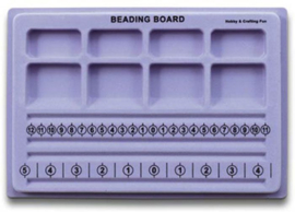 TH10303-0291- stevige kwaliteit kralenbord 19x28cm