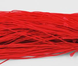 27 meter elastiek elastisch koord van 1mm dik rood