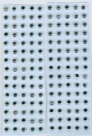 CE802603/1931- 150 stuks zelfklevende wiebeloogjes van 6mm