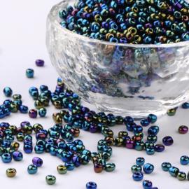 R34- 20gram glazen rocailles 3mm olie