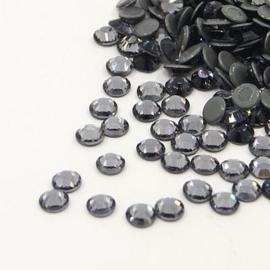 1440 stuks hotfix strass steentjes SS20 4.8mm black diamond - AA-kwaliteit