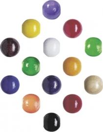 6028 993- 85 stuks houten kralenmix kleurenmix 8mm