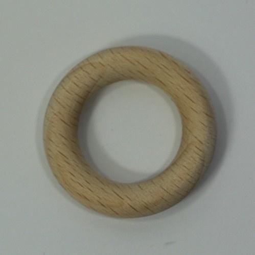 blank houten ring van 35mm doorsnee