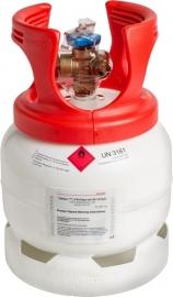Koudemiddel HFO1234yf 5kg (incl. waarborg € 60)