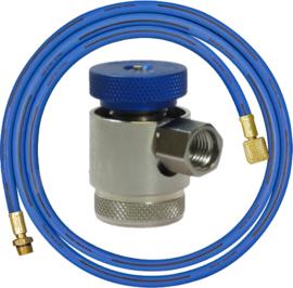 Slang met lage druk koppeling R134A - Voor het afpersen van aircosystemen