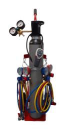 Formeergas afpersset (inclusief cilinder)
