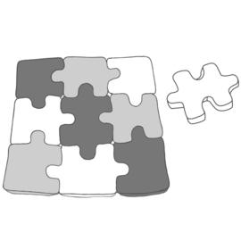 Katia Fabrics - Vloerkleed puzzel