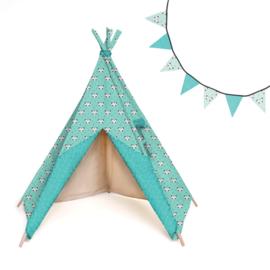 Katia Fabrics - Tipi tent en vlaggenlijn