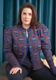 Vest in felted tweed, Citrine