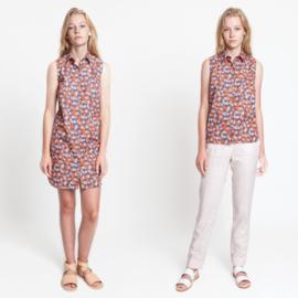 Katia Fabrics - T shirt jurk zonder mouwen en t shirt