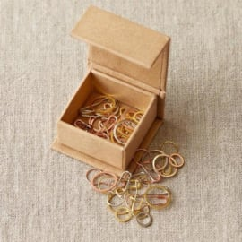 Coco knits - precious metal stitch markers