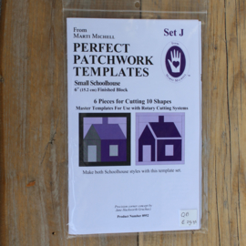 Patchwork Templates - Small Schoolhouse