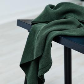 Mara Linen blend , deep green