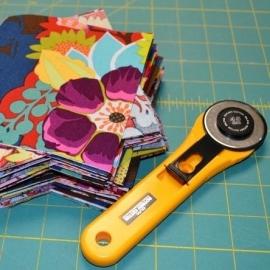 Quiltblokken snijden, naaien en strijken