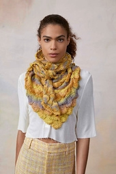 Driehoekige sjaal  in Linello