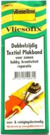 Vlieseline  Dubbelzijdig textiel plakband