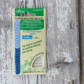 Flower Head Pins Fine (card)