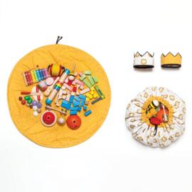 Katia Fabrics - Tas voor speelgoed en kroon