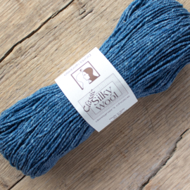Silky wool - jeansblauw