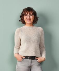 Kukka sweater in Ecopuno