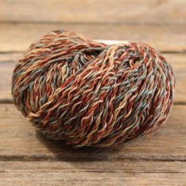 Rowan Summerspun - kleur 118 groen bruin oranje
