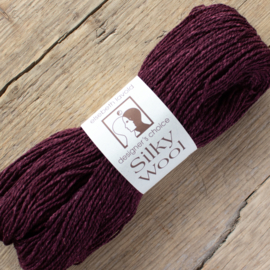 Silky wool - wijnrood