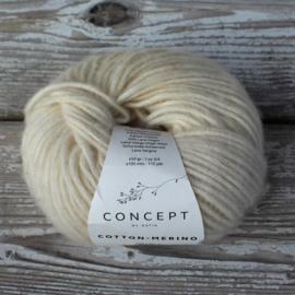 Cotton merino - kleur 100