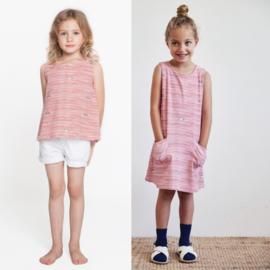 Katia Fabrics - Mouwloze jurk + shirt