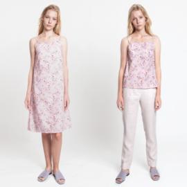 Katia Fabrics - Jurk met schouderbandjes en topje
