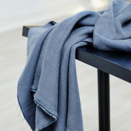 Mara Linen blend , dusty blue