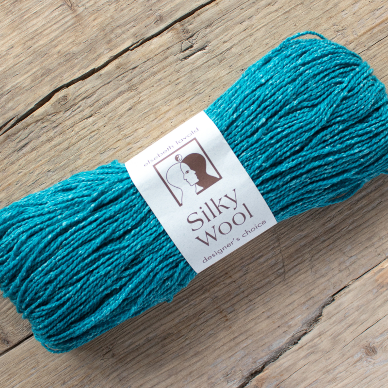 Silky wool - turquoise