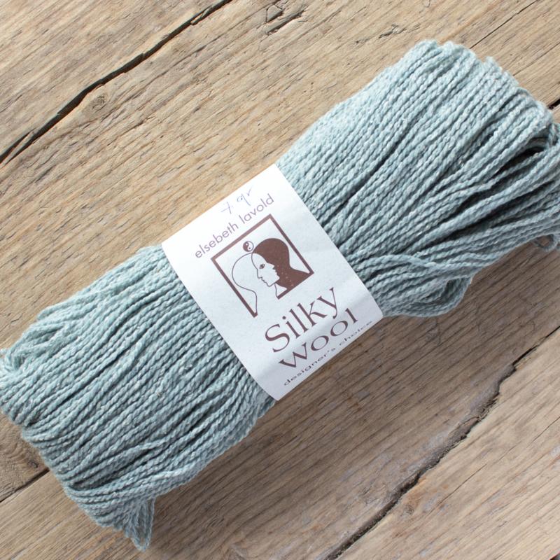 Silky wool - lichtblauw