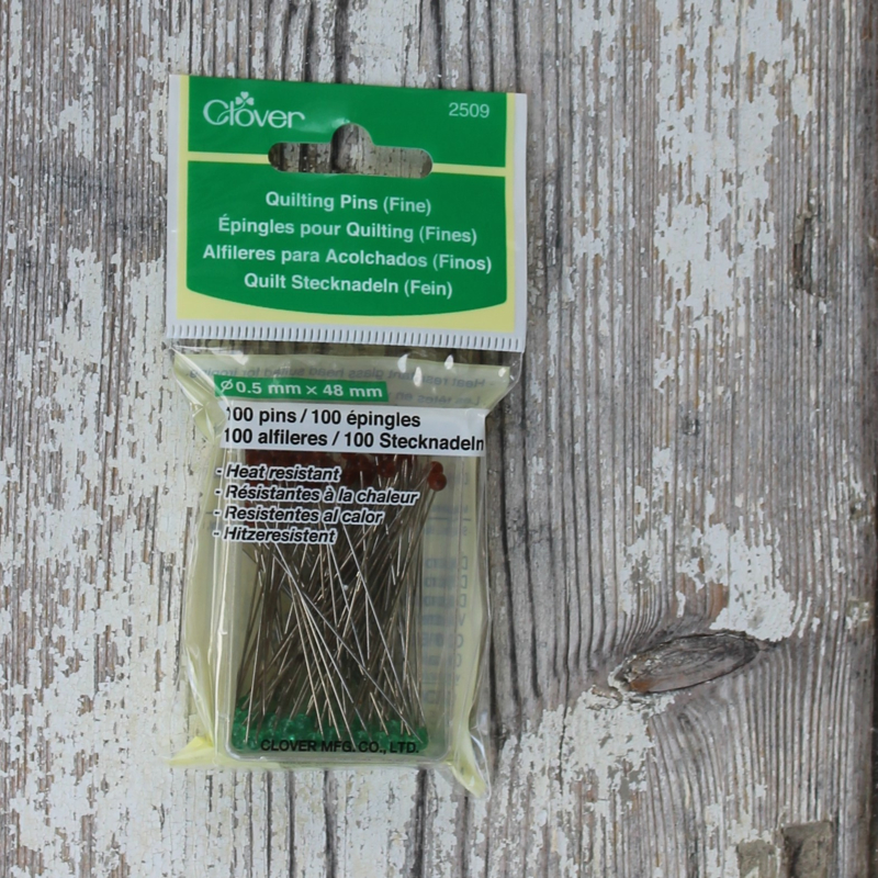 Quilting Pins Fine (box)