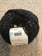 Rowan Tweed - kleur 595 zwart