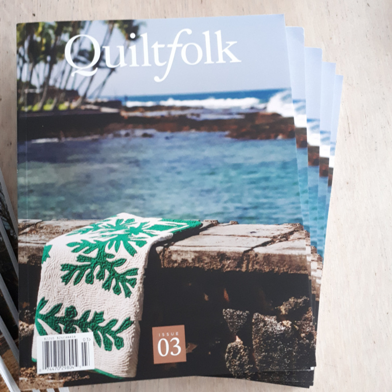 Quiltfolk Magazine Issue 03 Hawaii