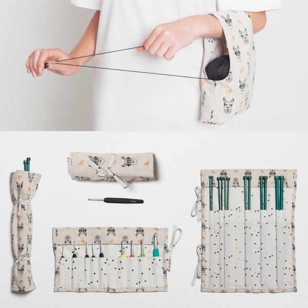 Katia Fabrics - Brei etui, haak etui, projectbag