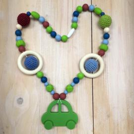 Borstvoedingsketting Auto Groen