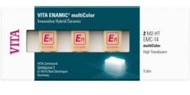 Vita Enamic Multi Color - MC ( 5 stuks)