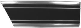 Lower Fender Trim-Rear Left , Black
