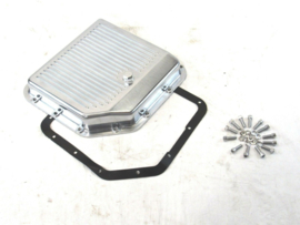Aluminium GM Turbo 350 Finned   Transmission Pan  Polished