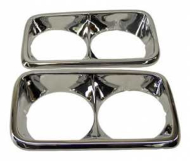 Headlight Bezels 1969-72 GMC Truck