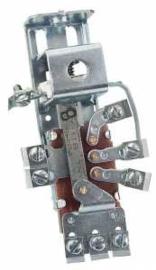 Koplamp schakelaar Origineel styl.  12 volt  1940-55. 1ste serie