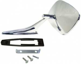 Exterior Mirror Kit (Replacement Type) Left side  1967-72